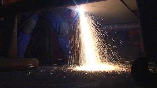 Flying sparks are the main cause of fire and explosion.