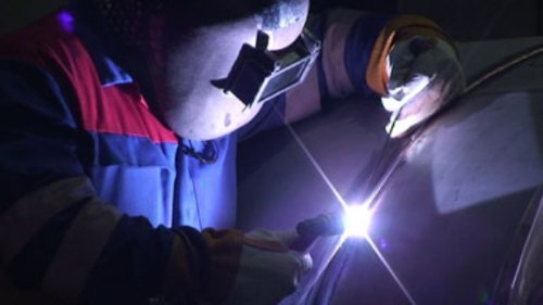 The use of Argon gas during TIG welding increases the visible brightness of the Arc.
