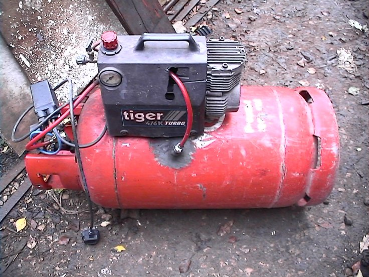 DIY Air compressor