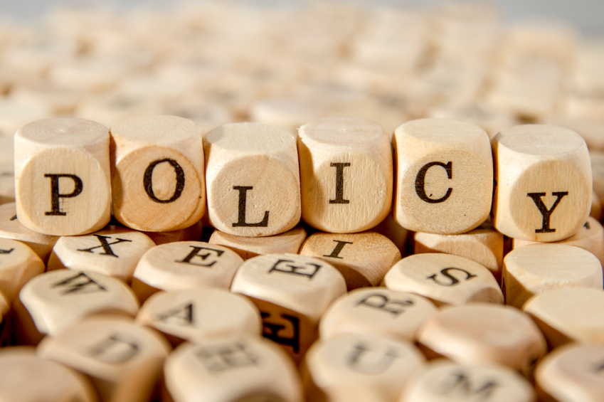 writing policy and procedures template