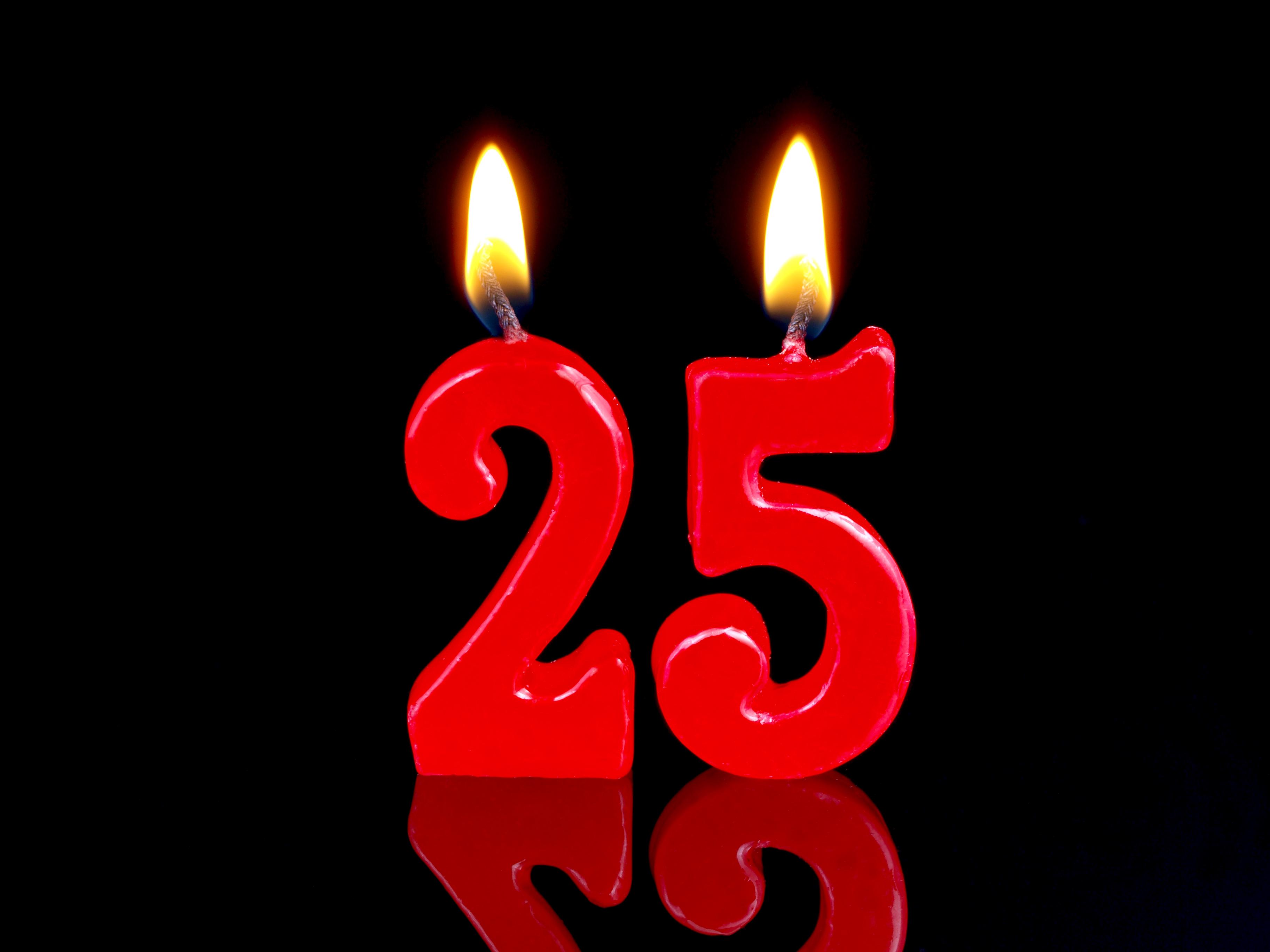 Поздравления с 25-летием девушке прикольные - Поздравок 37